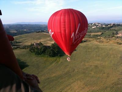 Balloon over Tavarnelle