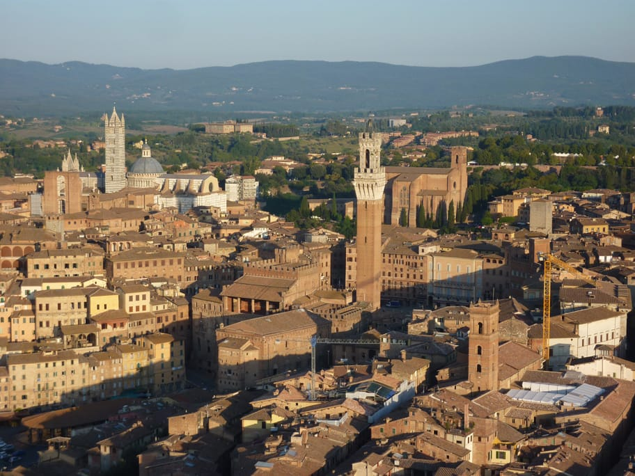 Over Siena