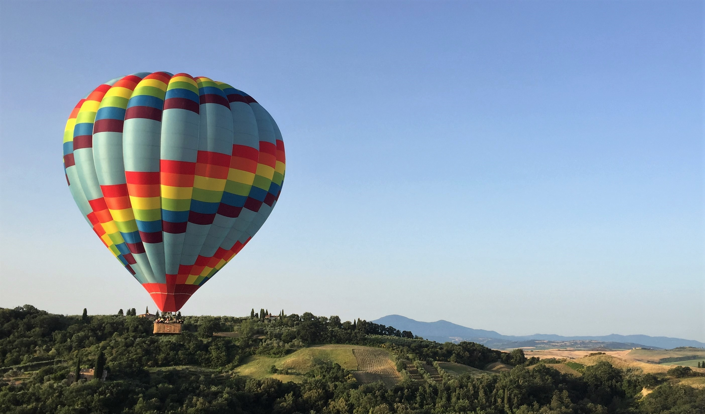 Welcome to Ballooning in Tuscany • Hot Air Balloon Rides ...